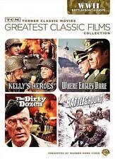 TCM Greatest Classic Films: World War II - Battlefront Europe DVD NEW FREE SHIP!
