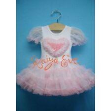 NWT KAIYA EVE BELLA HEART BABYDOLL dress with petti skirt USA made 6M 12M 18M 2y