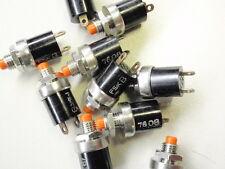 8 Drucktaster, sehr hochwertig ÖFFNER max. 125V 3A 5mm Loch MARQUARD        1099