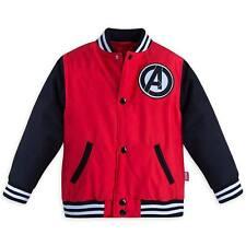 Disney Store Marvel Avengers Boy Varsity Jacket Size 5/6