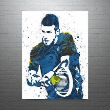 Novak Djokovic Tennis Poster FREE US SHIPPING