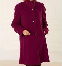 Women's Outerwear Winter Chruch Fall Wool blend coat jacket Plus 1X 2X 3X new