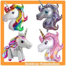 XXL Einhorn Pferd Folienballon Luftballon Ballon Geburtstag Fancy Party Unicorn