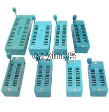 NEW 16 20 28 32 40 Pins Test Universal ZIF IC Socket 16P 20P 28P 32P 40P Sockets