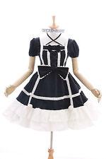 JL-628-1 schwarz black Klassik Gothic Schleife Lolita Kleid dress Kostüm Cosplay