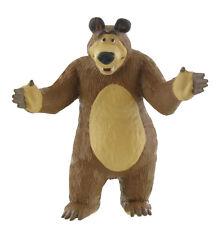 Macha et l'ours figurine Bear 8 cm Comansi Y99804