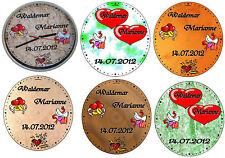 Wanduhr Uhr Funkuhr Lautlos Hochzeit Geschenk Name Datum Hochzeitsgeschenk TOP