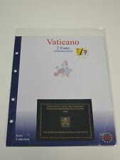 UNA BUSTA MASTERPHIL 2 EURO COMMEMORATIVI VATICANO 2005 VATIKAN VATICAN