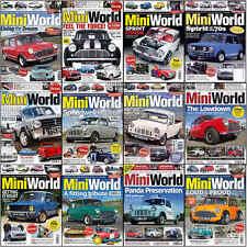 Magazine - Miniworld Mini World inc Cooper Cars Contents Index Shown - Various
