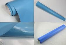 [ 9,18€/m ²] azul claro mate COCHE Wrap Lámina CANALES DE AIRE LIBRE DE BURBUJAS