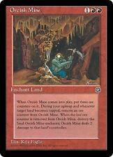 Orcish Mine X4 FINE PLAYED Homelands MTG Magic Cards Red Land D