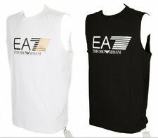SG T-shirt canotta smanicato uomo girocollo cotone EA7 EMPORIO ARMANI articolo 3