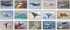 FRIDGE MAGNET - US FIGHTER JETS (Various Designs) - Large Jumbo Plane Airplane F