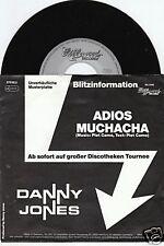 DANNY JONES Adios Muchacha 45/GER/PIC/PROMO
