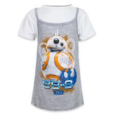 Disney Store Auténtico Star Wars BB-8 Camiseta de Tirantes Niña Talla S M L XL