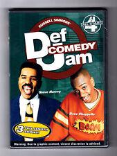 Def Comedy Jam: All Stars Vol. 4 - Steve Harvey, Bernie Mac, D.L. Hughley, NEW!