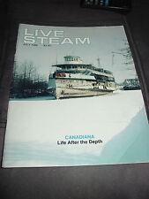 Live Steam, Magazine Steamers & Large-Scale Railroaders, Locomotives, Vessels