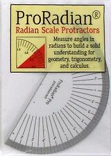 ProRadian Pro: Radian Scale Protractors - Math Science Engineering Measurement