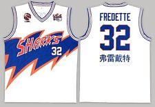 Jimmer Fredette Jersey Shanghai Sharks Basketball Jersey New, White