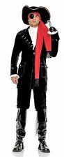 Pirate Captain Costume, Leg Avenue 83265, Adult Men's 7 Piece, Size S/M, M/L, XL