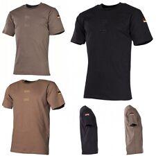 MFH BW Tropenhemd Klett Nationalitätsabzeichen Unterhemd Armee Shirt NEU