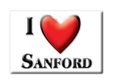 SOUVENIR USA - COLORADO FRIDGE MAGNET AMERICA I LOVE SANFORD (CONEJOS COUNTY)