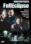 FULL ECLIPSE (DVD, 1993, WS, SNAP CASE) Mario Van Peebles NEW