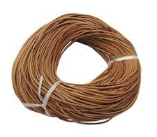 3mm pérou marron clair authentique 100% cordon cuir 1M 2M 3M string dentelle ronde