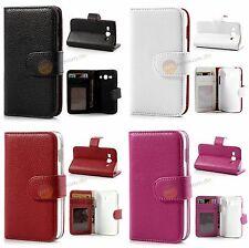 Geldbörse Leder Tasche für Samsung Galaxy Ace 3 S7270, S7275, S7272