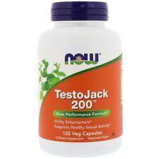 Now Foods TestoJack CHOOSE SIZE Tribulus B6 ZMA Testosterone Booster Super