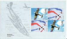 GREAT BRITAIN 2008 RAF UNIFORMS SPITFIRE PANE FINE USED