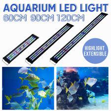 60 90 120cm Aquarium LED Light Lighting Full Spectrum Aqua Plant Fish Tank Lamp