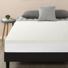 """2.5"""" Ventilated Air flow Memory Foam Mattress Topper- Twin Full Queen King Dorm"""