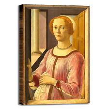 Botticelli Esmeralda Brandini quadro stampa tela dipinto telaio arredo casa
