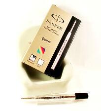 Parker Ball Point Pen Refill Medium Black Tubed quantity 1, 6 or 12
