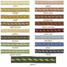 9 COLOUR 75mm Tassel Upholstery Fringe Costume Lampshade Edging BUY 1 2 4m+