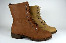 à lacets Femmes Chaussures bottines bottes Automne à pointure gr.36-41 A.102