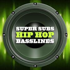 Super submarinos Hip Hop Basslines Bass bucles (24-Bit WAV) Ableton Fl Studio Logic Pro