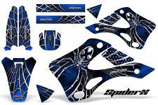 KAWASAKI KX125 KX250 99-02 GRAPHICS KIT CREATORX DECALS SPIDERX SXBL