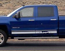Mirage 4x4 Decals 3M Vinyl Sticker Graphic Stripe Chevrolet Silverado Crew Cab