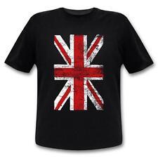 Union Jack T-Shirt Vintage Style  Mann / England / Großbritannien Flagge / UK-Sh
