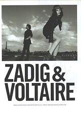 PUBLICITE  ADVERTISING 2008  ZADIG ET VOLTAIRE Sean Lennon et ch.KEMP MUHL