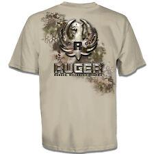 RUGER T-Shirt Kryptek Metal Eagle Logo Firearms SAND New S-3XL