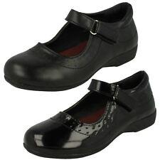 Girls Spot On School Shoes '337'
