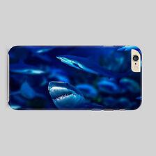 Sharks Aquarium Planet Blue Phone Case Cover