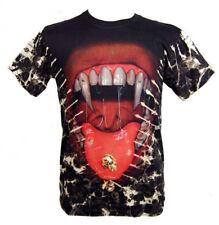 GOTICO MEDIOEVO Larp T-shirt Grande vampiro uomo Maglietta