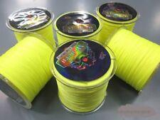 Yellow Marker Float Braid (Banana colour) Fishing braid 300 500 1000meters multi