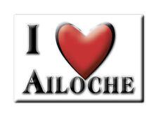 CALAMITA PIEMONTE ITALIA FRIDGE MAGNET MAGNETE SOUVENIR I LOVE AILOCHE (BI)--