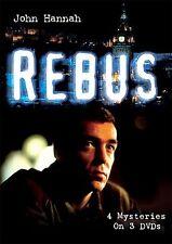 REBUS SERIES 1 DVD ~ Black & Blue HANGING GARDEN Dead Souls MORTAL CAUSES Stott