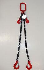 2-Strang-Gehänge, Anschlagkette 10mm in 4 verschiedenen Längen galv. verzinkt